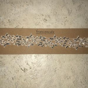 Ivory headband from Francesca's collections